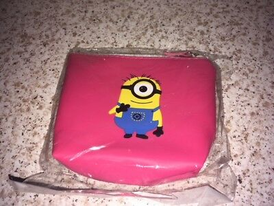 PINK MINIONS PURSE - NEW & SEALED - 99p