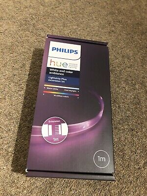 Philips Hue Ambiance Lightstrip Plus 1m Extension (Works with Alexa)