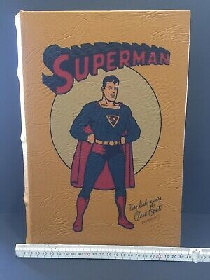 Superman Book Box> Cloth lined