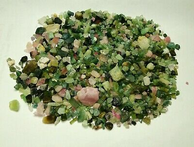 900-Carat Nice Quality Mixed Colour Rough Tourmaline Lot From Afghanistan