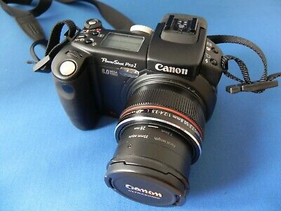 Canon Powershot Pro1 8.0mp Digital Camera 7 x Optical Zoom with  Extras