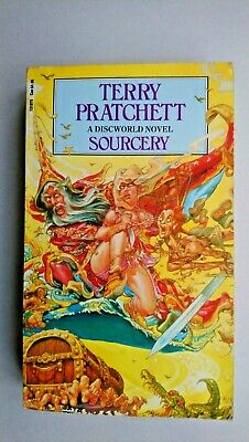 Sourcery: (Discworld Novel 4) by Terry Pratchett (Paperback, 1989)