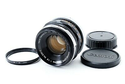Canon FL 50mm f/1.8 Standard MF Lens From Japan w/Step up Ring From Japan