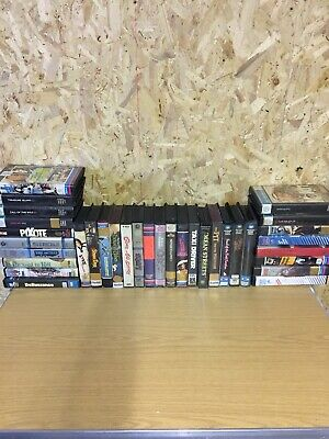 Vintage Vhs Video Tape Collection, Pre Cert, Ex Rental