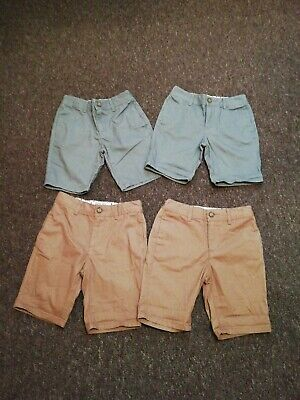 Twin Boys  Chinos Shorts Bundle Age 7 Matalan