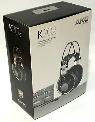 AKG K702 Reference Studio Headphones, legendary open back for mixing & mastering