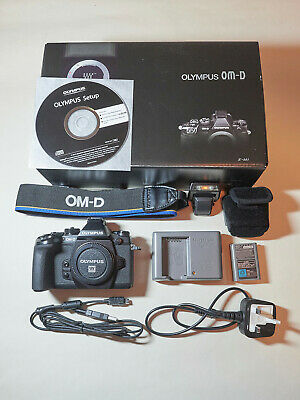 Olympus OM-D EM-1 Mark 1 body only, used, low shutter count of 10,977
