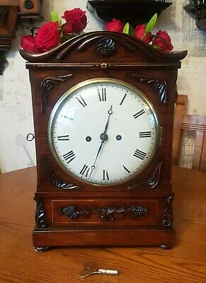 Antique London Double Fusee Bracket Clock
