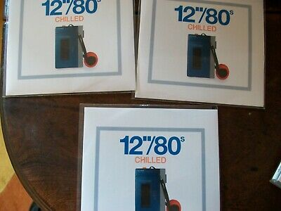 """Various – 12""""/80s/Chilled (3xCDr promo) rare 2014 comp OMD soft cell PSB cure"""