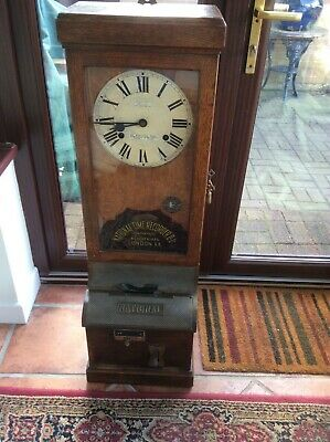 Antique Clocking In Machine
