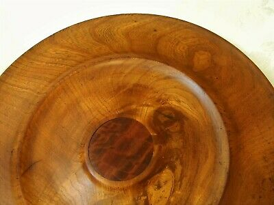 Turned Wood Large Serving Tray NR
