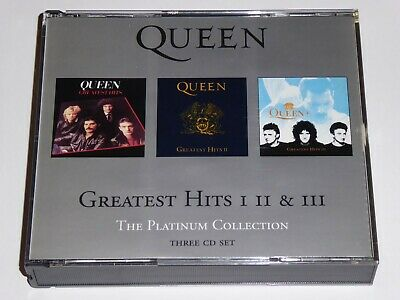 Queen - Greatest Hits 1, 2 & 3 - The Platinum Collection - 3-Disc CD ALBUM SET