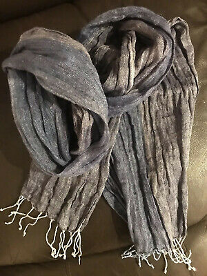 Stylish Jaeger Linen Men's Scarf in Excellent Condition
