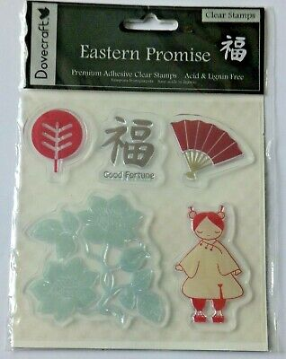 EASTERN PROMISE Dovecraft Clear Stamp Set