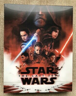 Star Wars The Last Jedi Double Lenticular Blufans Exclusive Slipcover Only