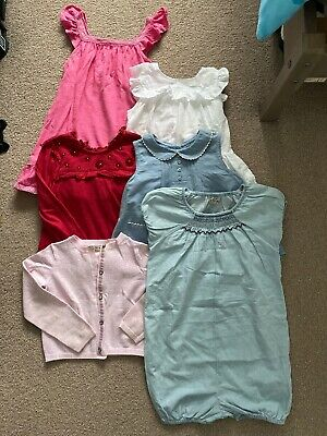 Girls Clothing Bundle Age 3-4 Years ~ All Next! Including Dress Tops Cardigan