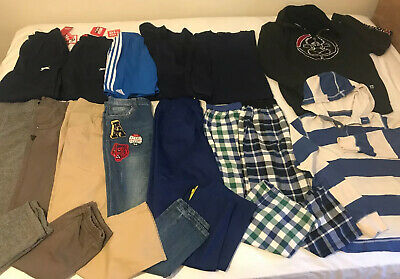 Large Bundle Of Boys Clothes Age 11-12 Yrs Some New