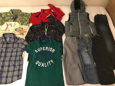 Bundle Of Boys Clothes Age 9-10/11 Yrs Some New!