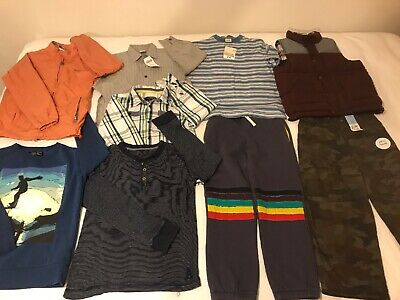 Bundle Of Boys Clothes Age 6-7/8 Yrs Some New