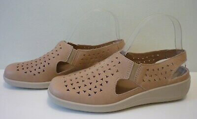 Hotter Saffron Ladies Shoes Size 4 Exf (Wide Fit)