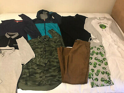 Large Bundle Of Boys Clothes Age 13-14 Yrs