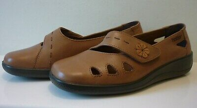 Hotter Bliss Ladies Shoes Size 5 Exf (Wide Fit)