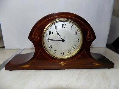 Vintage Swiss Mantel Clock With Swiss Platform Escapement