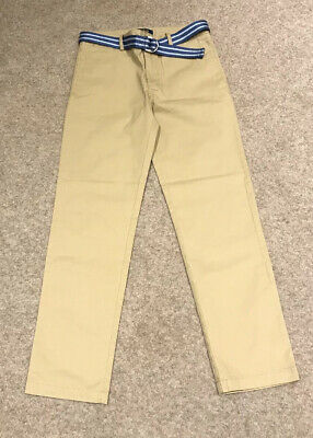 Polo Ralph Lauren Boys Beige Chino Trousers Age 14