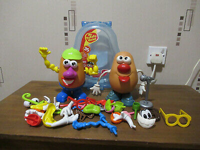 Mr Potato Head (x2) in carry case and lots of accessories