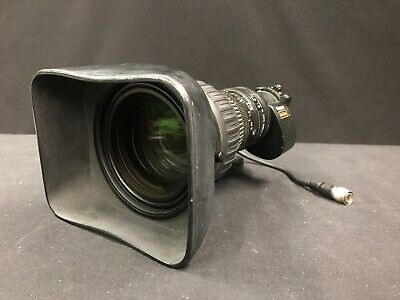 Canon HJ22ex7.6 IRSE HD eHDxs mount for ENG cameras.  B-mount Broadcast lens.