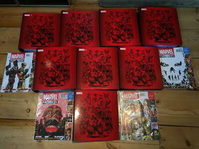 EAGLEMOSS COLLECTIONS Marvel Fact Files Complete 8 Folders Issues 1-119 Job Lot