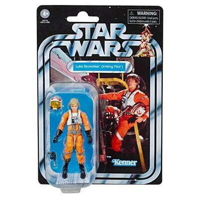 "Star Wars Vintage Kenner The Rise Of Skywalker ""Luke Skywalker (X-Wing Pilot)"""