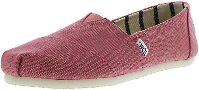 Toms Women's Classic Heritage Canvas Ankle-High Slip-On Shoes