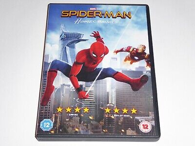 SpiderMan - Homecoming (2017) - GENUINE UK (Region 2) DVD - EXCELLENT CONDITION