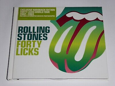 The Rolling Stones: Forty Licks: Very Best Of Exclusive Hardback Edition 2 CD 40