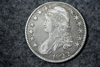 Estate Find 1822 - Capped Bust Half Dollar!!!! #J07640