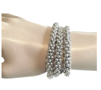 LAGOS Caviar Bracelet Sterling Silver Rope 7mm NEW $395.00