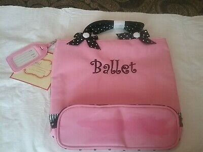 Sassi Designs Ballet/Tap Combo Bag - Small Tote NWT