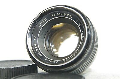 Yashica Auto Yashinon 5cm 50mm F/2 MF Lens SN344117 for M42 Mount *As-Is*
