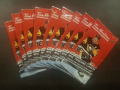 2019-20 Tim Hortons Hockey 9 Unopened Packs