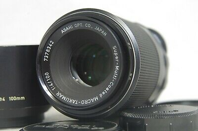 Pentax SMC Super-Multi-Coated Macro-Takumar 100mm F/4 MF Lens SN7378342 for M42