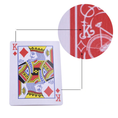 Marked Stripper Deck Playing Cards Poker Magic Tricks Close Up Illusion Props