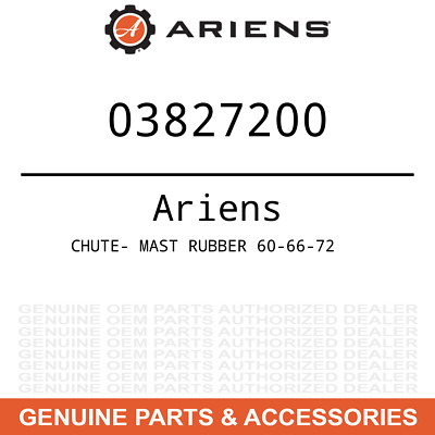 Genuine Ariens Gravely Part CHUTE RUBBER DISCHARGE  00377800