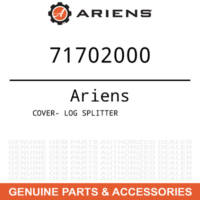 Splitter 04824851 Genuine OEM Ariens Log Splitter Wldmt Wedge