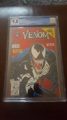 Venom Lethal Protector #1 Cgc 9.8 Wp 1St Venom In Own Title Same As Movie! Hot