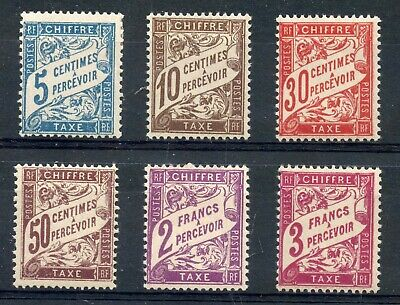 Stamp / Timbre France Neuf Taxe Lot **