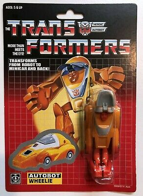 US SELLER RARE! TRANSFORMERS G1 AUTOBOT YELLOW CLIFFJUMPER MOSC