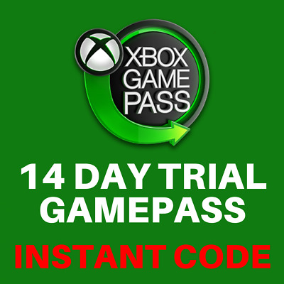 Xbox Gamepass 14 Day Trial Membership Code - Xbox One / Xbox 360 - INSTANT
