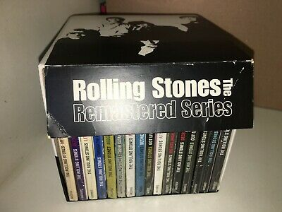The Rolling Stones Remastered Series Box Limited Edition 16 Sacd Sealed Insert
