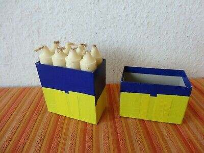 Vintage Swiss Army Candles For Folding Lanterns (Pack of 8) Original Military